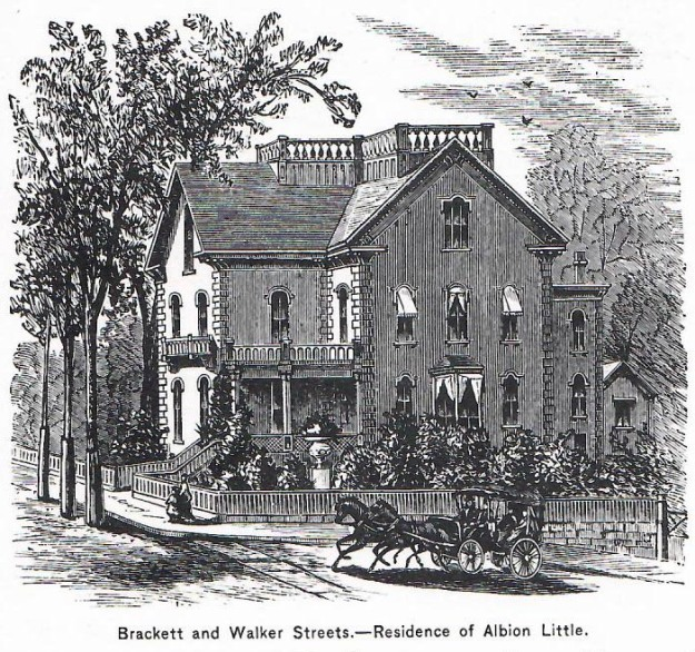 Albion Little house from Elwell's Portland and Vicinity from 1881
