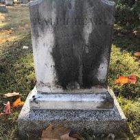 Ralph Elwell grave in Evergreen. FindAGrave.com