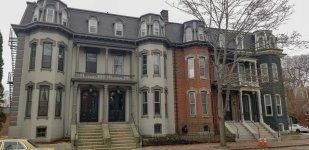 Portland Tenement House Co. Block. Pine Street.
