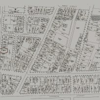 19 Anderson Street in the 1882 City Survey. Portland Public Library Digital Commons