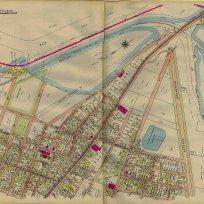19 Anderson Street in the 1914 Atlas. Portland Public Library Digital Commons
