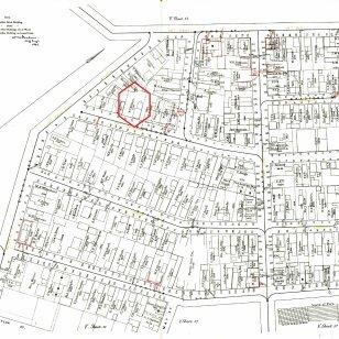33 Cushman Street on the 1882 city map.